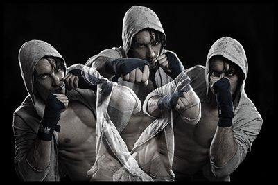 Combat Sport Motivation 12x18 Poster