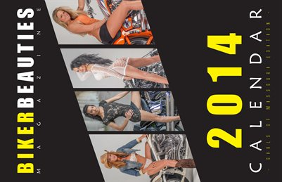 2014 Girls of Missouri Calendar