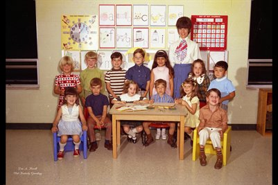FIRST BAPTIST CHURCH KINDERGARTEN MAY 24, 1971