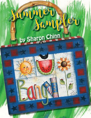 Summer Sampler Painting Tutorial Booklet