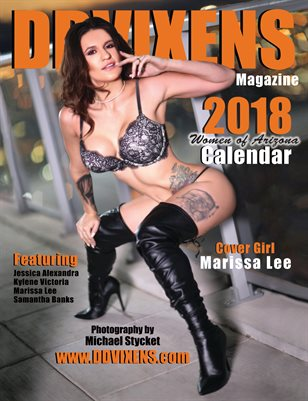 DDVIXENS - Women of Arizona - 2018 Calendar