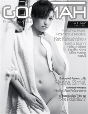 Goomah Magazine - July 212 - Cover Two