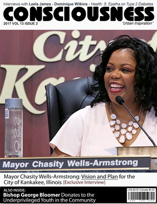 Mayor Chasity Wells-Armstrong Featured on cover of Consciousness Magazine