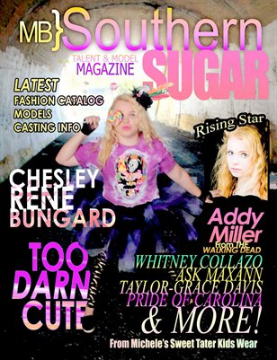 MB} Southern Sugar Talent & Model Magazine [April]