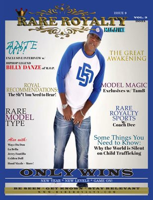 Rare Royalty Magazine Issue 9 ONLY WINS 2021 Edition