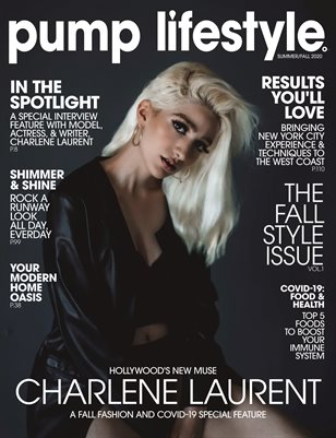 Pump Magazine Special Edition Featuring Charlene Laurent | The Fall Style Issue