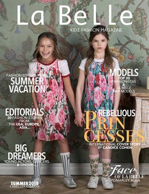 La Belle Kidz & Teen Fashion / Summer 2018 (International Cover)
