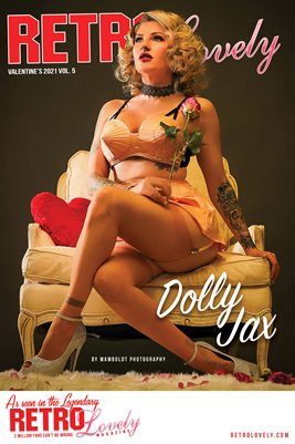 Dolly Jax Valentine's Cover Poster