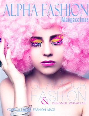 Fashion & Swimwear Volume.8 Issue#9 - (Glamour Cover)