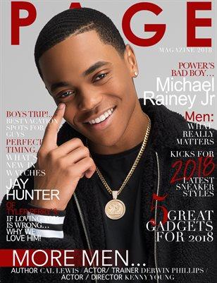 PAGE MAGAZINE MEN 2018