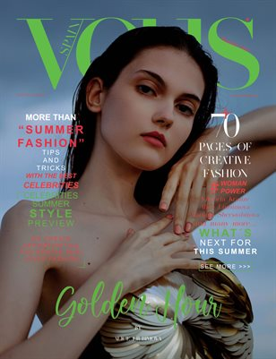 VOUS Magazine | The July Fashion & Beauty Edition | Vol.1 | 2021