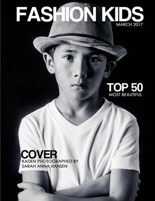 Fashion Kids Magazine | MARCH TOP 50 MOST BEAUTIFUL