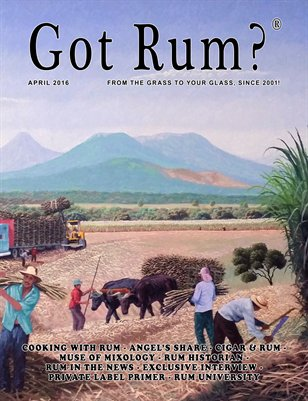 """Got Rum?"" April 2016"