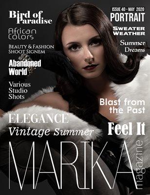 MARIKA MAGAZINE PORTRAIT (May - issue 40)