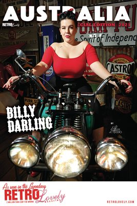 AUSTRALIA SPECIAL EDITION 2021 - Billy Darling Cover Poster