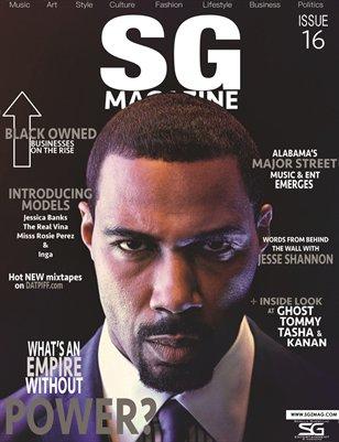 The official Scrilla Guerillaz Magazine #16 (The Power Edition)