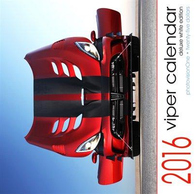 2016 DeLuxe Viper Calendar - White Edition