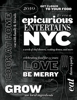 Epicurious Entertains 2010