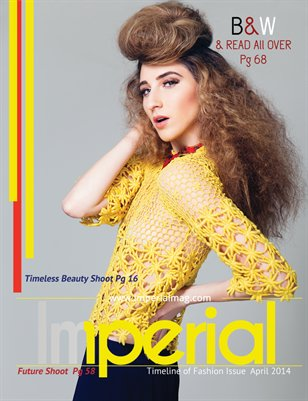 Timeline of Fashion Issue  April 2014