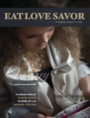 EAT LOVE SAVOR Magazine, Vol 2