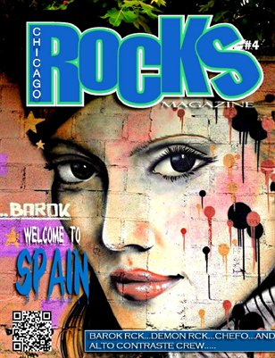 Chicago Rocks 2014 issue #4 Welcome to Spain