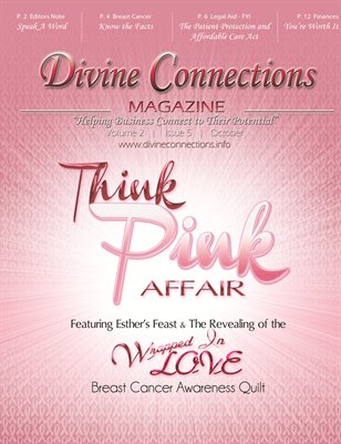 October Issue: Breast Cancer Awareness and financial advice