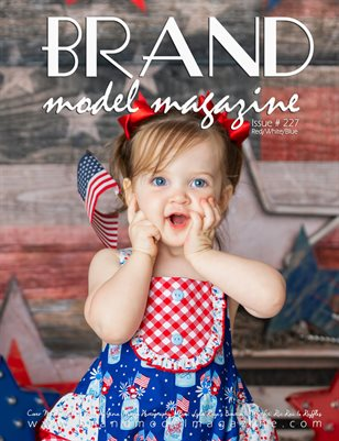 Brand Model Magazine  Issue # 227, Red/White/Blue Vol. 1