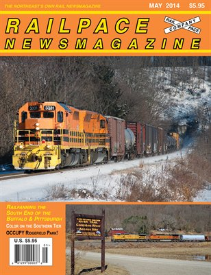 MAY 2014 Railpace Newsmagazine