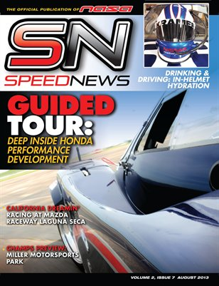 Speed News Magazine August 2013