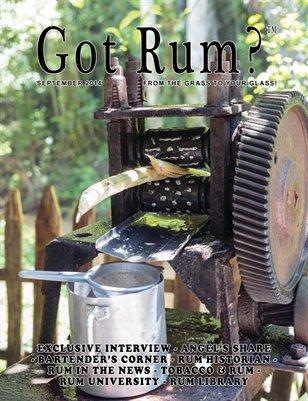 """""""Got Rum?"""" September 2014"""