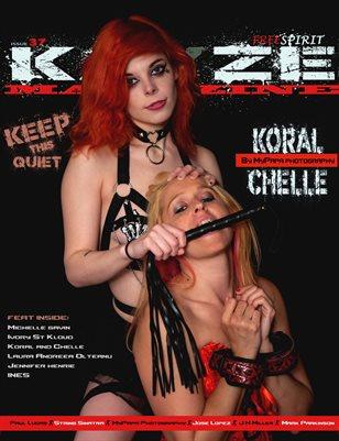 Kayze Magazine Issue 37 - KORAL & CHELLE - open theme