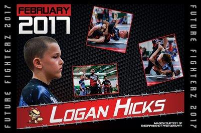 Logan Hicks Cal Poster 2017