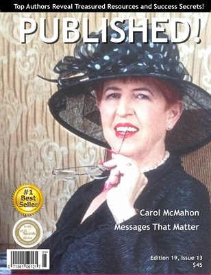 PUBLISHED! Magazine featuring Carol McMahon