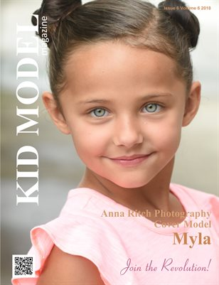 Kid Model magazine Issue 6 Volume 6 2018