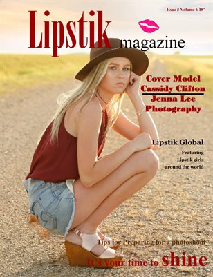 Lipstik magazine Issue 5 Volume 6 2018