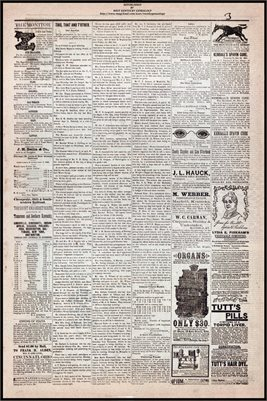 (PAGES 3-4 ) JUNE 24, 1882 MAYFIELD MONITOR NEWSPAPER, MAYFIELD, GRAVES COUNTY, KENTUCKY