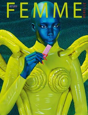 Femme Rebelle Magazine Oct 2019 BOOK 2 - Pol Kurucz Cover