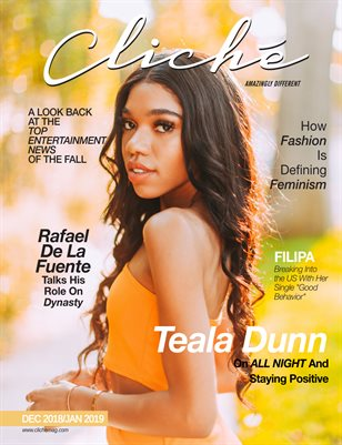 Cliché Magazine Dec 2018/Jan 2019 (Teala Dunn)