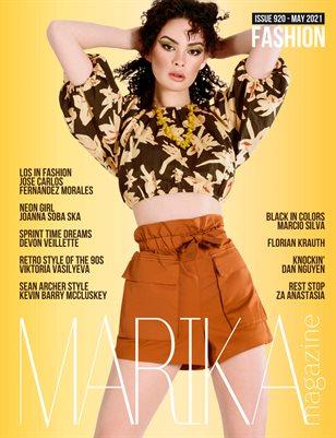 MARIKA MAGAZINE FASHION (ISSUE 920- MAY)