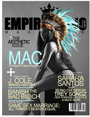 Empire Radio Magazine 'The Aesthetic Issue' Mac Edition
