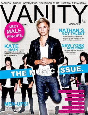 Vanity magazine - The Music Issue 2012