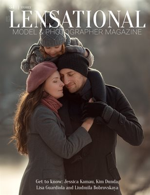 LENSATIONAL Model and Photographer Magazine #34 Issue   Family - April 2020