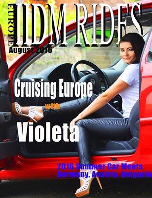 IIDM RIDES Europe Magazine Aug 2016