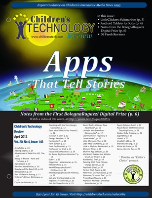 Children's Technology Review: April 2012