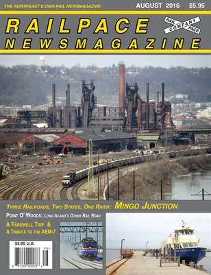 AUGUST 2016 Railpace Newsmagazine