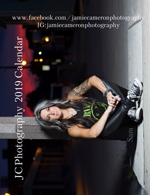 "JC Photography ""8.5X11"" 2019 Calendar"