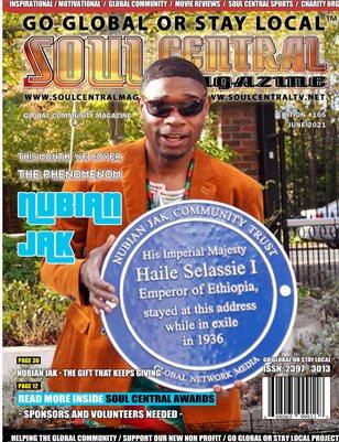 Soul Central Magazine – #Nubian Jak – Special #Edition #110