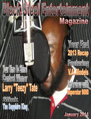Black Steel Entertainment Magazine (New Year's 2014)