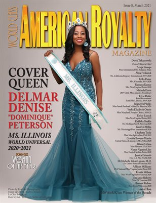 World Class American Royalty Magazine, Issue 8, Dominique Peterson