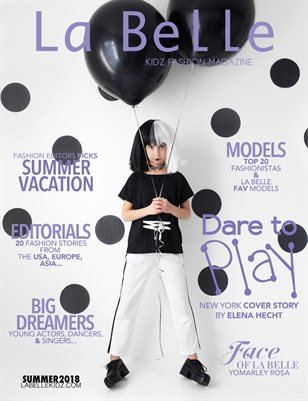 La Belle Kidz & Teen Fashion / Summer 2018 (New York Cover)